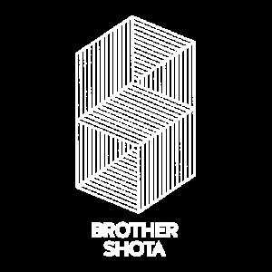 Brother Shota Logo White